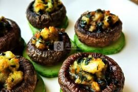 黑椒三鲜烤蘑菇的做法_黑椒三鲜烤蘑菇的家常做法_黑椒三鲜烤蘑菇怎么做好吃