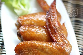 可乐鸡翅也可以烤着吃----可乐烤翅