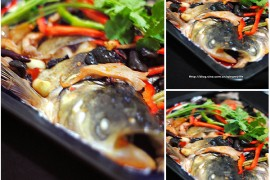 香辣烤鱼的做法_香辣烤鱼怎么做[薄灰]