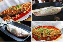 巫山纸包鱼之麻辣纸包鱼制作流程详解