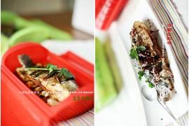 香葱烤鲫鱼的做法[大菜微博]