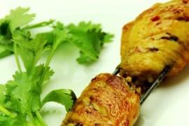鸡翅烤串的做法_家常鸡翅烤串的做法【图】