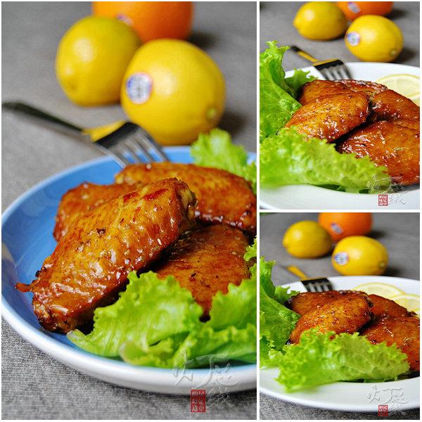柠檬香烤鸡翅的做法_柠檬香烤鸡翅怎么做[灯芯绒]