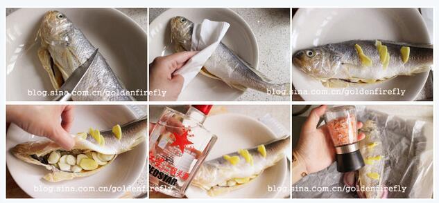 地中海风味纸包鱼的做法_家常纸包鱼怎么做【黃金大梨子】