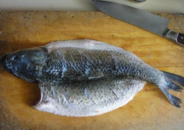 自制烤鱼--烤箱的新用途