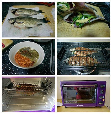 火辣烧烤鲫鱼的做法